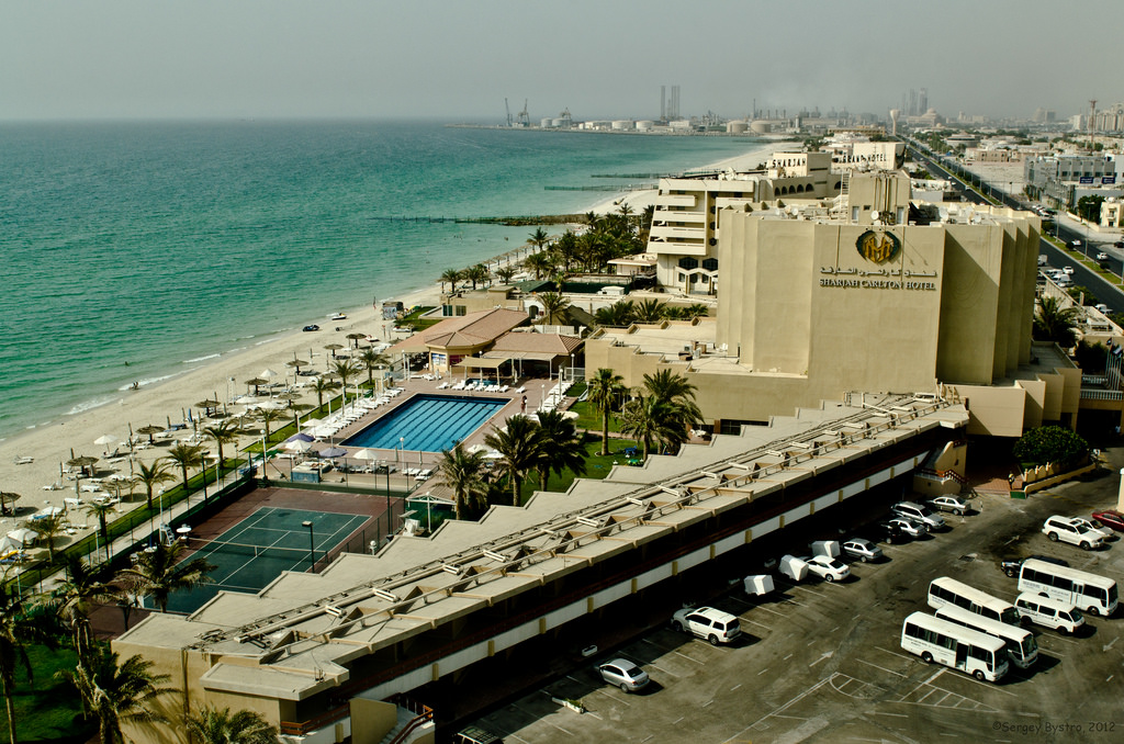 Beach in Sharjah